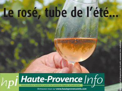 Le rosé, tube de l'été...Les viticulteurs de l'ODG Alpes du Sud ont ouvert leurs caves à HPI pour mettre en lumière le vin de l'été...Lire la suite......